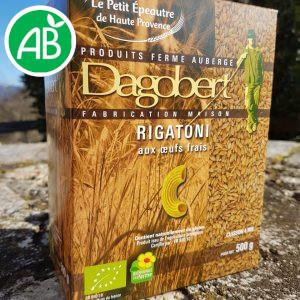 Les pâtes – Rigatoni boite de 500g