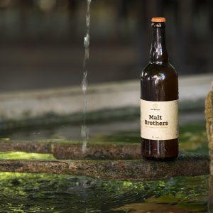 Bière blonde bouteille de 75cl