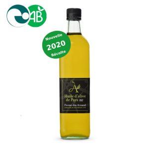 Huile d'olive primeur 2020