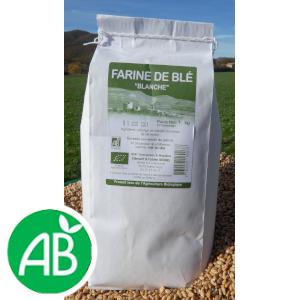 Farine de blé blanche (T65) – 1kg