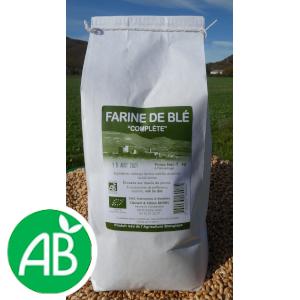 Farine de blé complète (T110) – 1kg