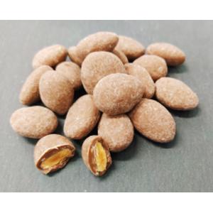 Amandes enrobées au chocolat – Sachet de 250g