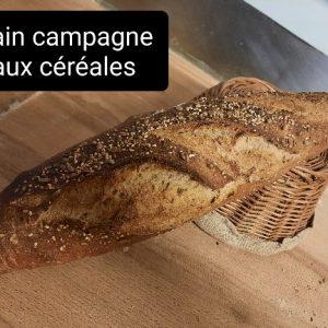 Pain de campagne aux céréales – 600g